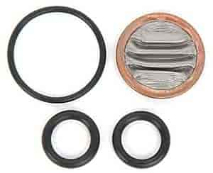 JEGS Performance Products 15073 - JEGS Adjustable Billet Fuel Lines with Filter
