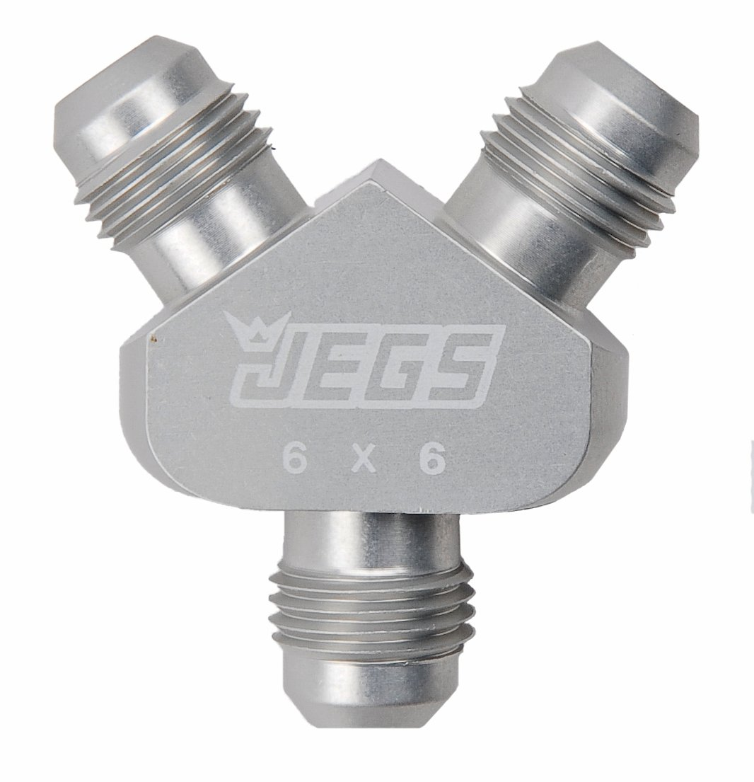 JEGS Performance Products 15184 - JEGS One-Piece AN to AN Y-Fittings