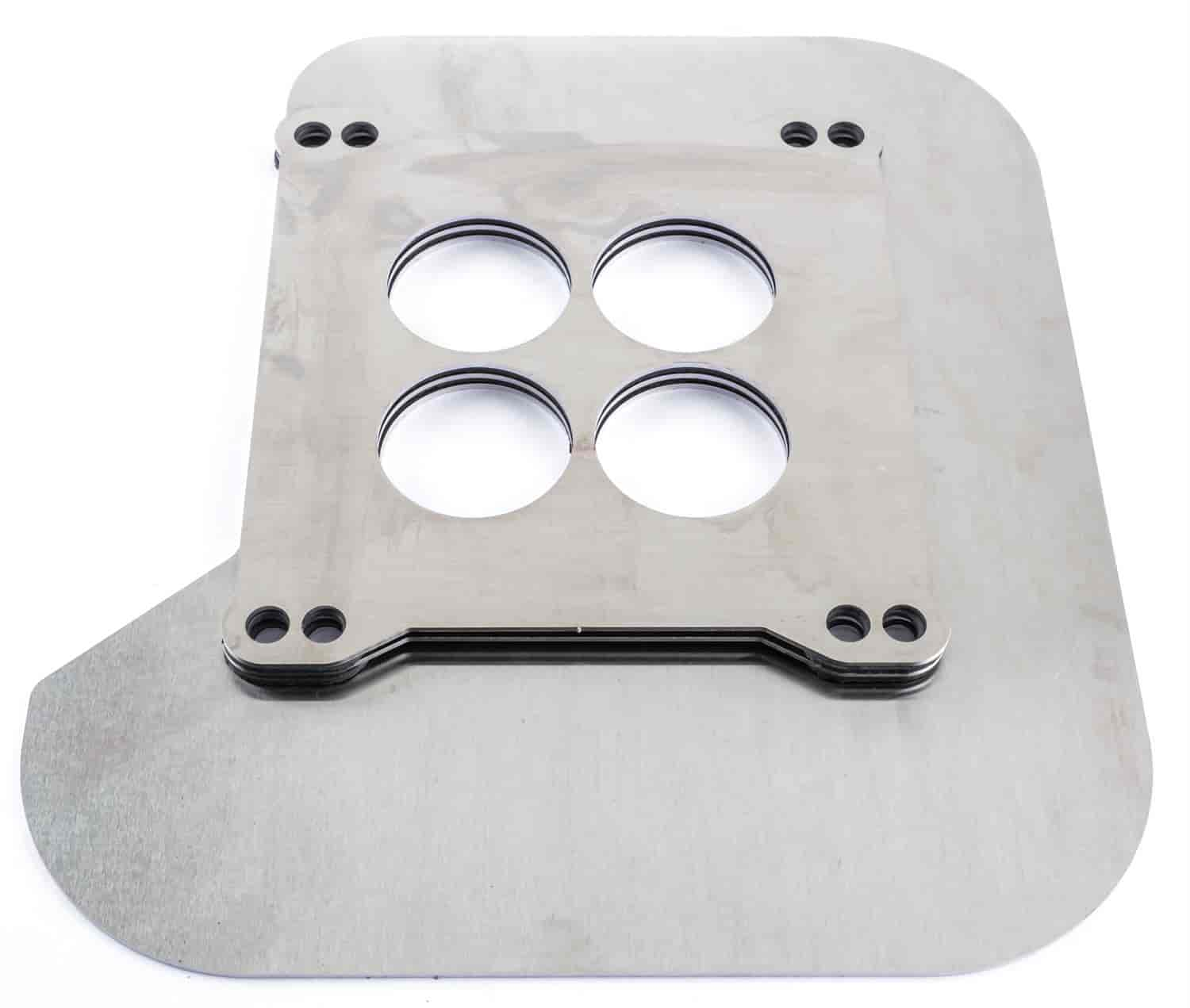 JEGS Performance Products 154050 - JEGS Square Flange Carb Heat Shields