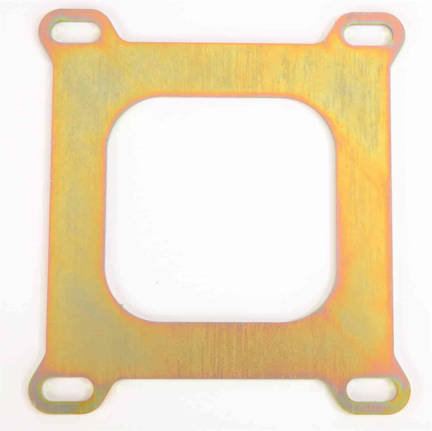 JEGS Performance Products 15442 - JEGS Dual Pattern Intake to Square Flange Carb Adapter Plate