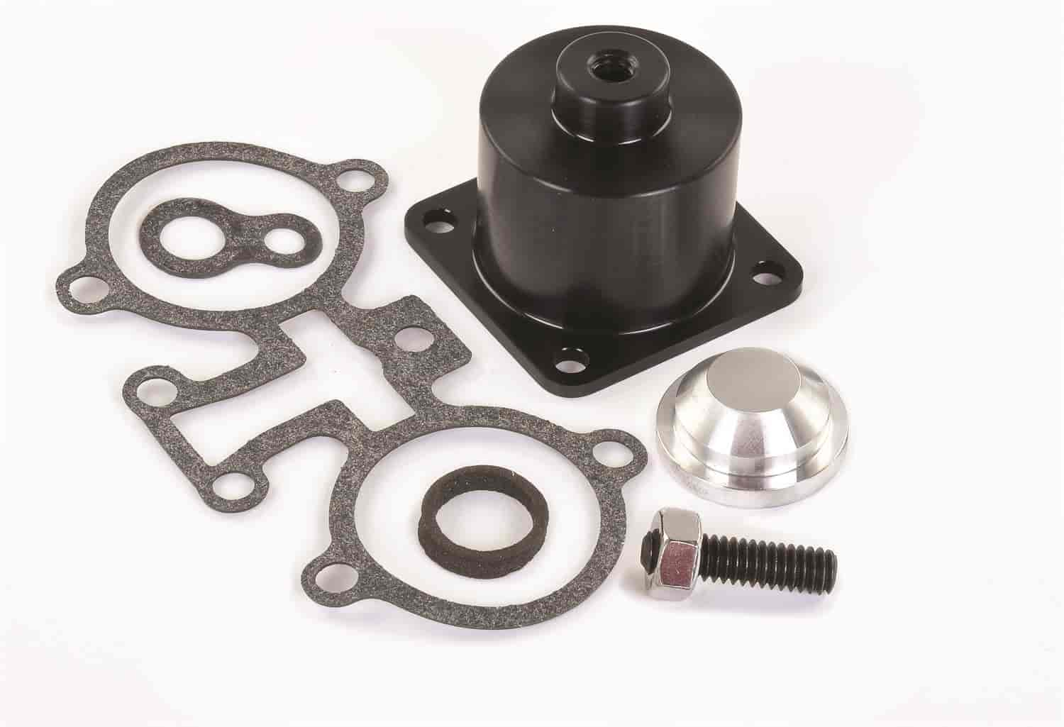 JEGS Performance Products 159050 - JEGS Billet Adjustable TBI Fuel Pressure Regulator