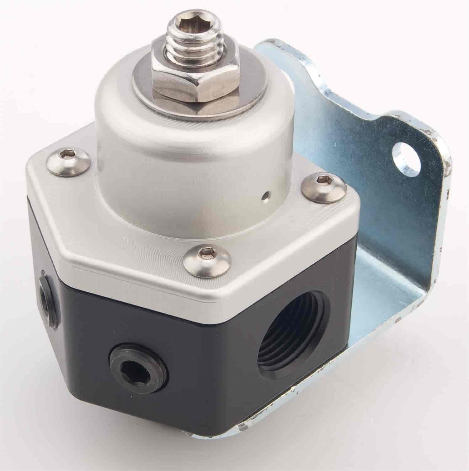 JEGS Performance Products 15907 - JEGS Billet 2-Port Adjustable Fuel Pressure Regulators