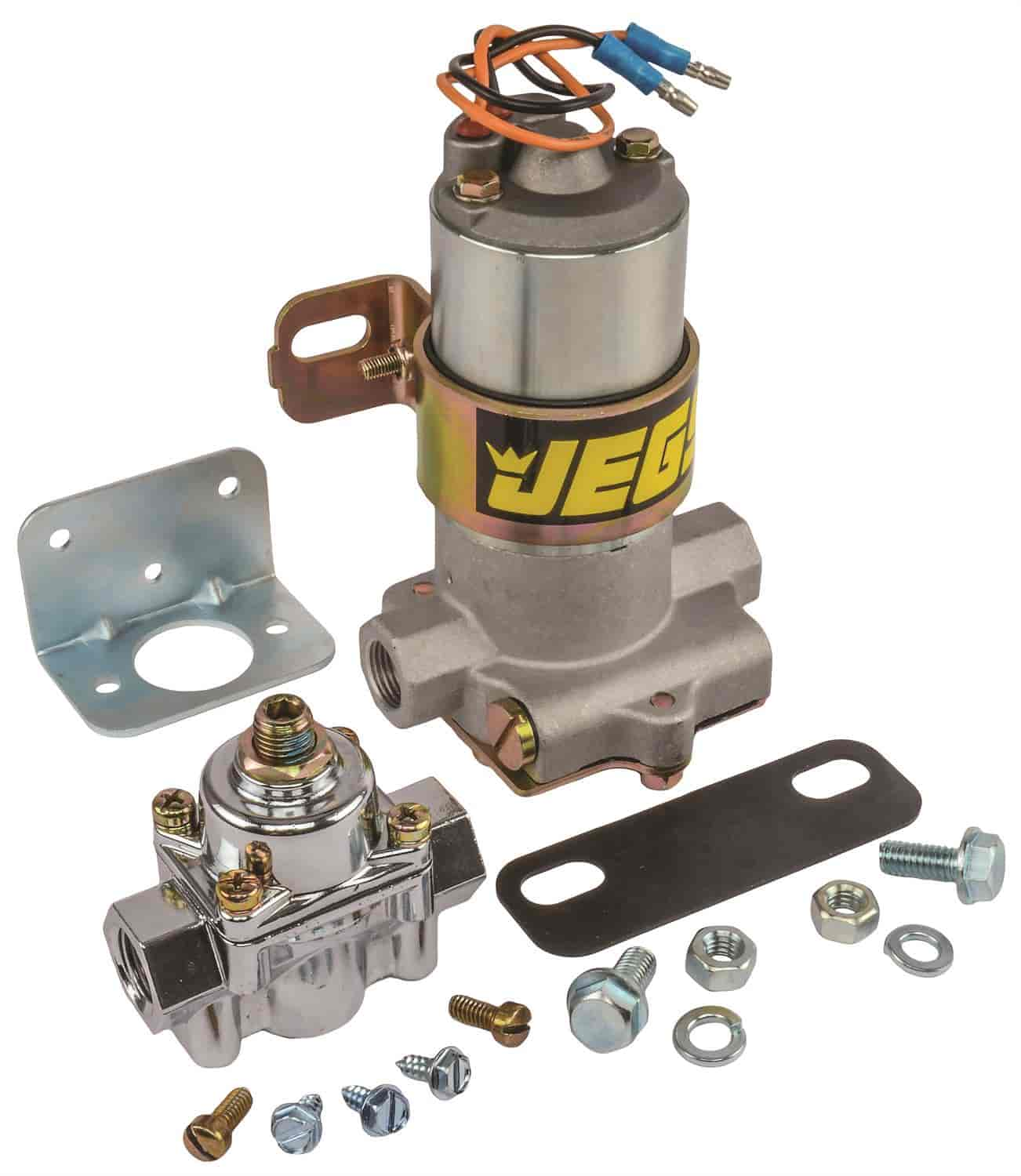 Jegs 15914 Electric Fuel Pump 1986 Corvette Location