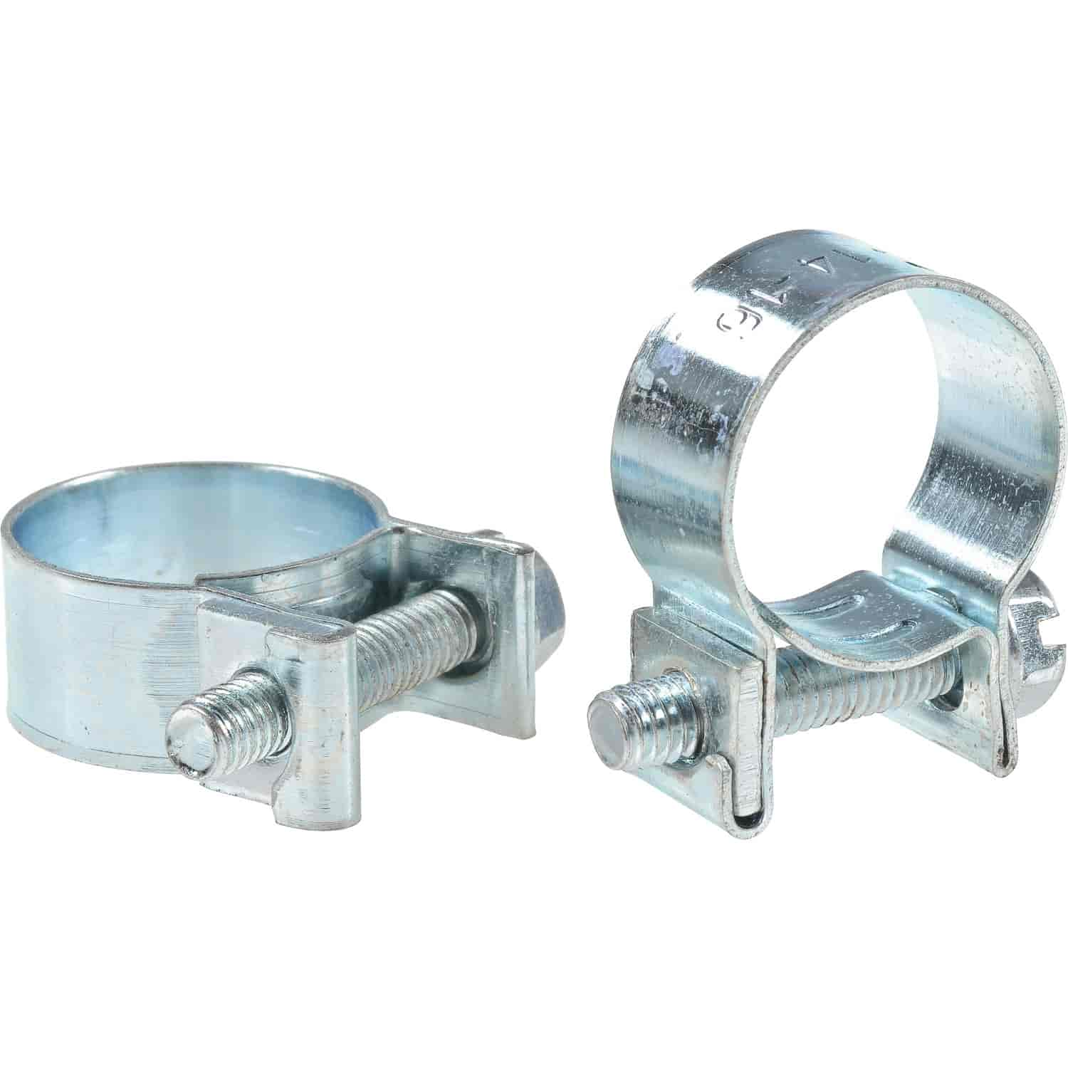 JEGS Performance Products Fuel Injection Hose Clamps Fits 3 8