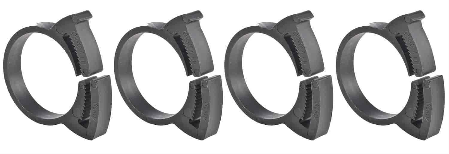 JEGS Performance Products 16063 - JEGS Snap Grip Nylon Hose Clamps