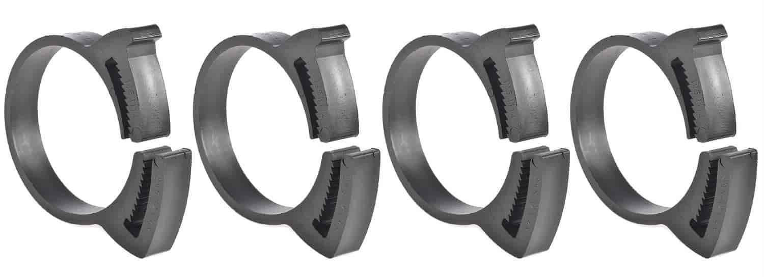 JEGS Performance Products 16064 - JEGS Snap Grip Nylon Hose Clamps