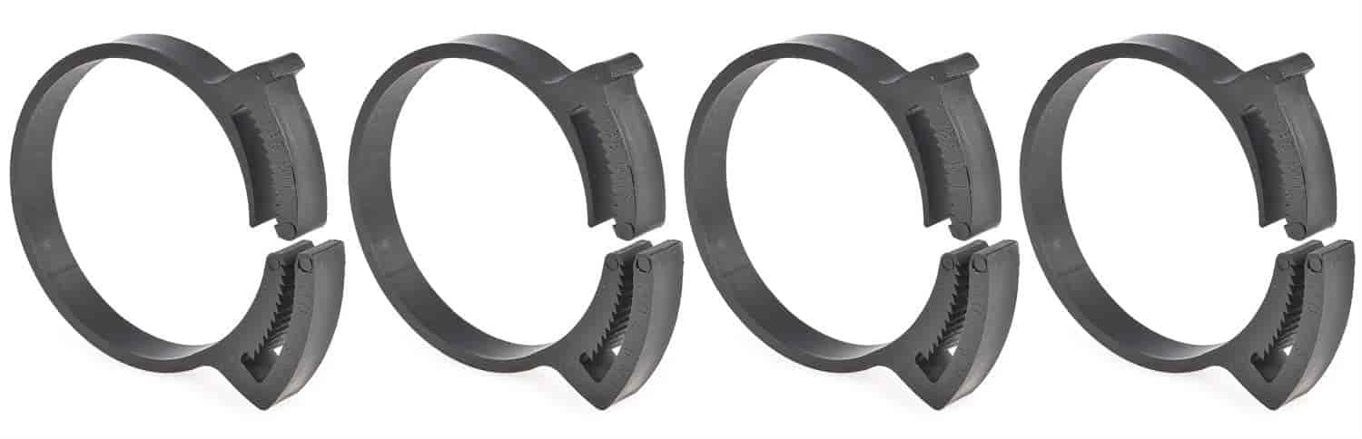 JEGS Performance Products 16066 - JEGS Snap Grip Nylon Hose Clamps
