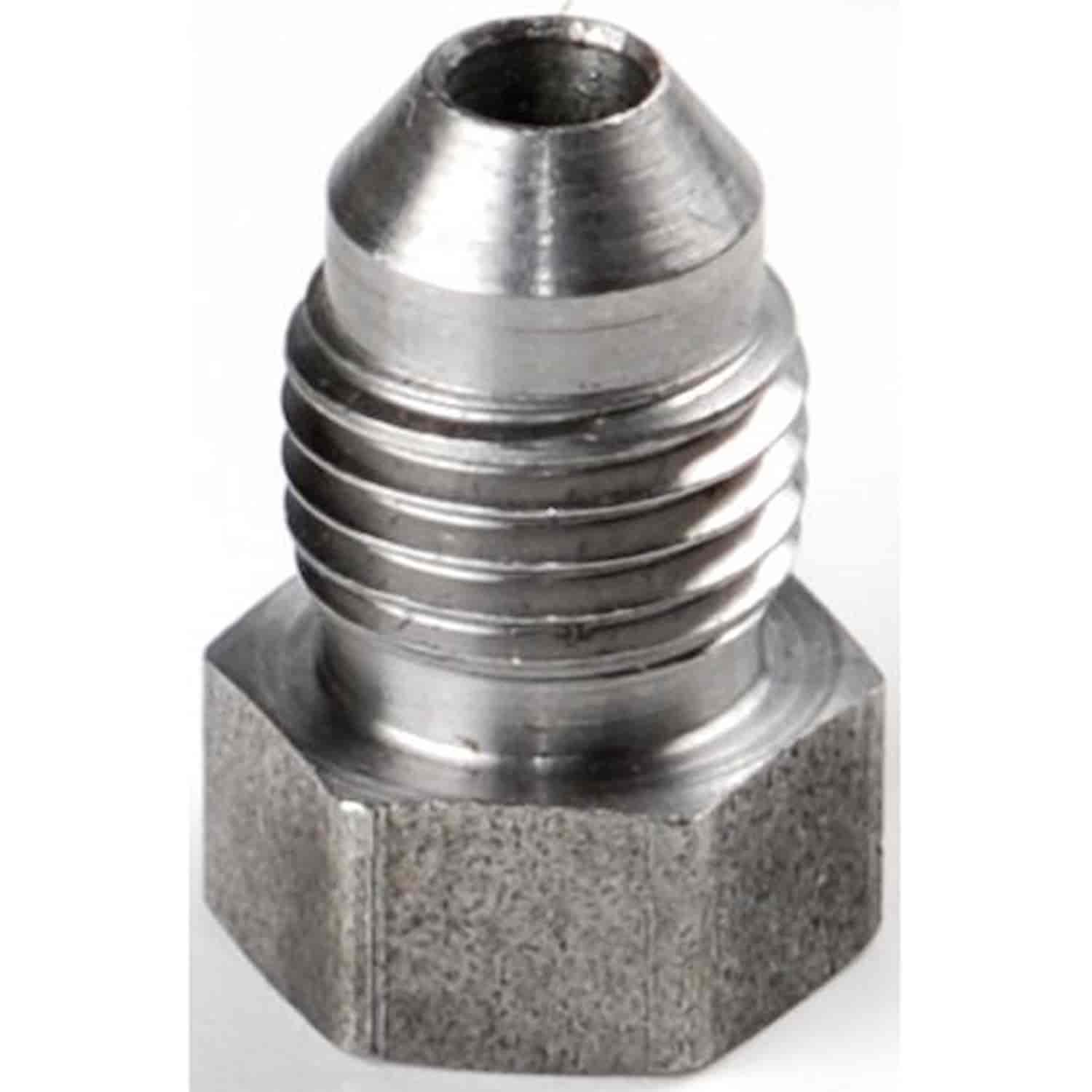 Jegs performance products steel weld fitting an male