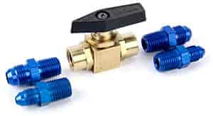 JEGS Performance Products 16540 - JEGS Nitrous High Pressure Shut Off Valve