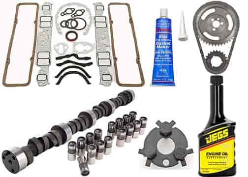 JEGS Camshaft and Lifter Install Kit 1957-1985 Chevy 262-400