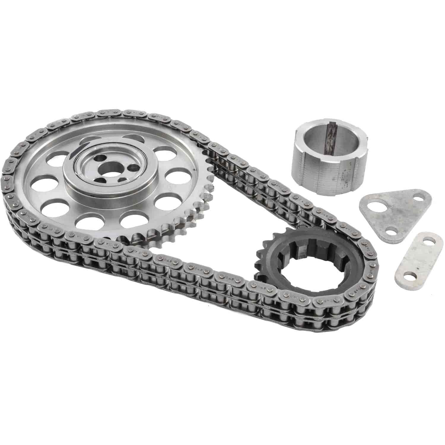 JEGS Performance Products 20400 - JEGS 9-Keyway Double-Roller Billet Timing Chain Sets