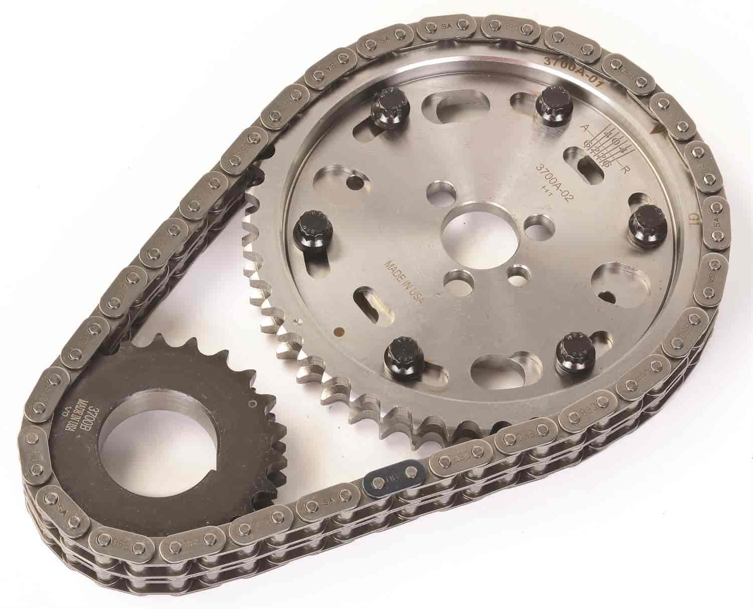 JEGS Rapid Adjust Timing Set 1955-1995 Small Block Chevy (except factory  hydraulic roller cam)