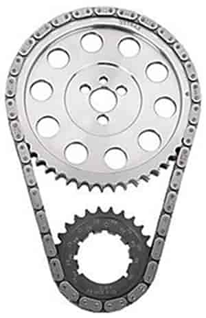JEGS Performance Products 20420 - JEGS 9-Keyway Double-Roller Billet Timing Chain Sets