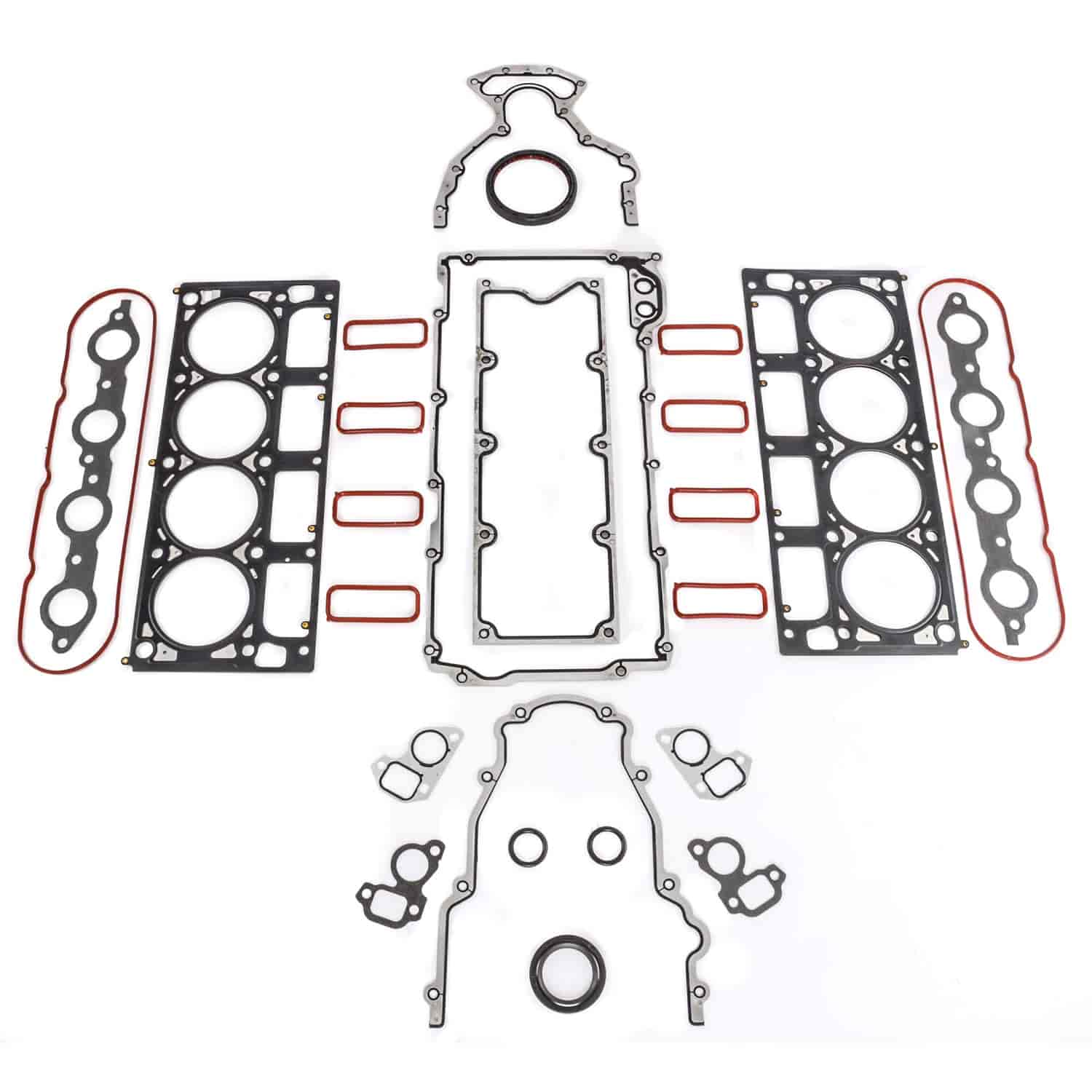 Ls6 Engine Code: JEGS 210840K1: Gasket Kit Upper And Lower For GM LS1, LS2