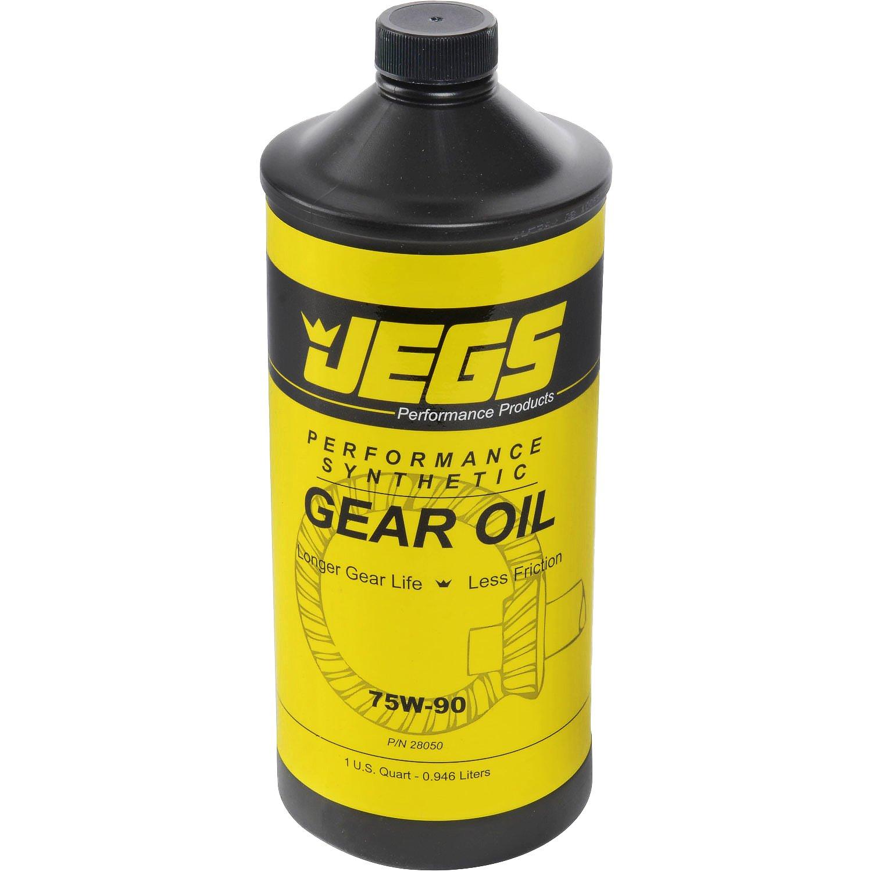 JEGS 75W-90 Synthetic Gear Oil 1 quart