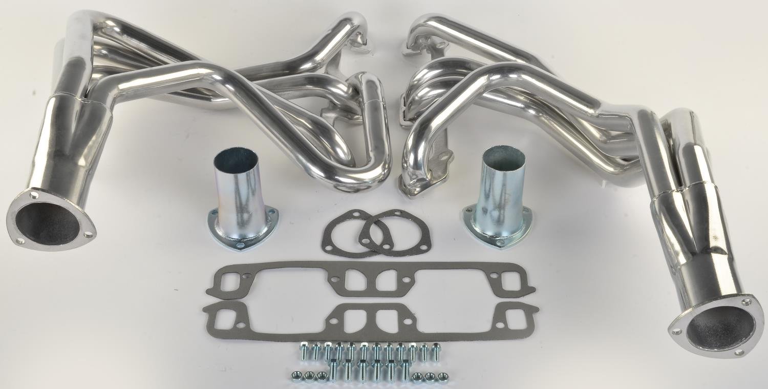 JEGS Performance Products 300140 - JEGS Premium Metallic Ceramic Coated Headers