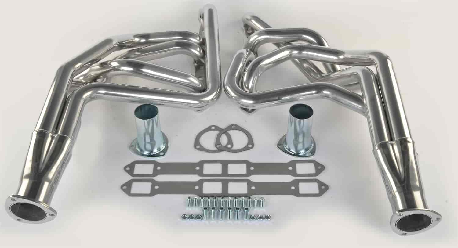 JEGS Performance Products 300141 - JEGS Premium Metallic Ceramic Coated Headers