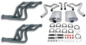 JEGS Performance Products 30050K - JEGS Complete Header Exhaust System