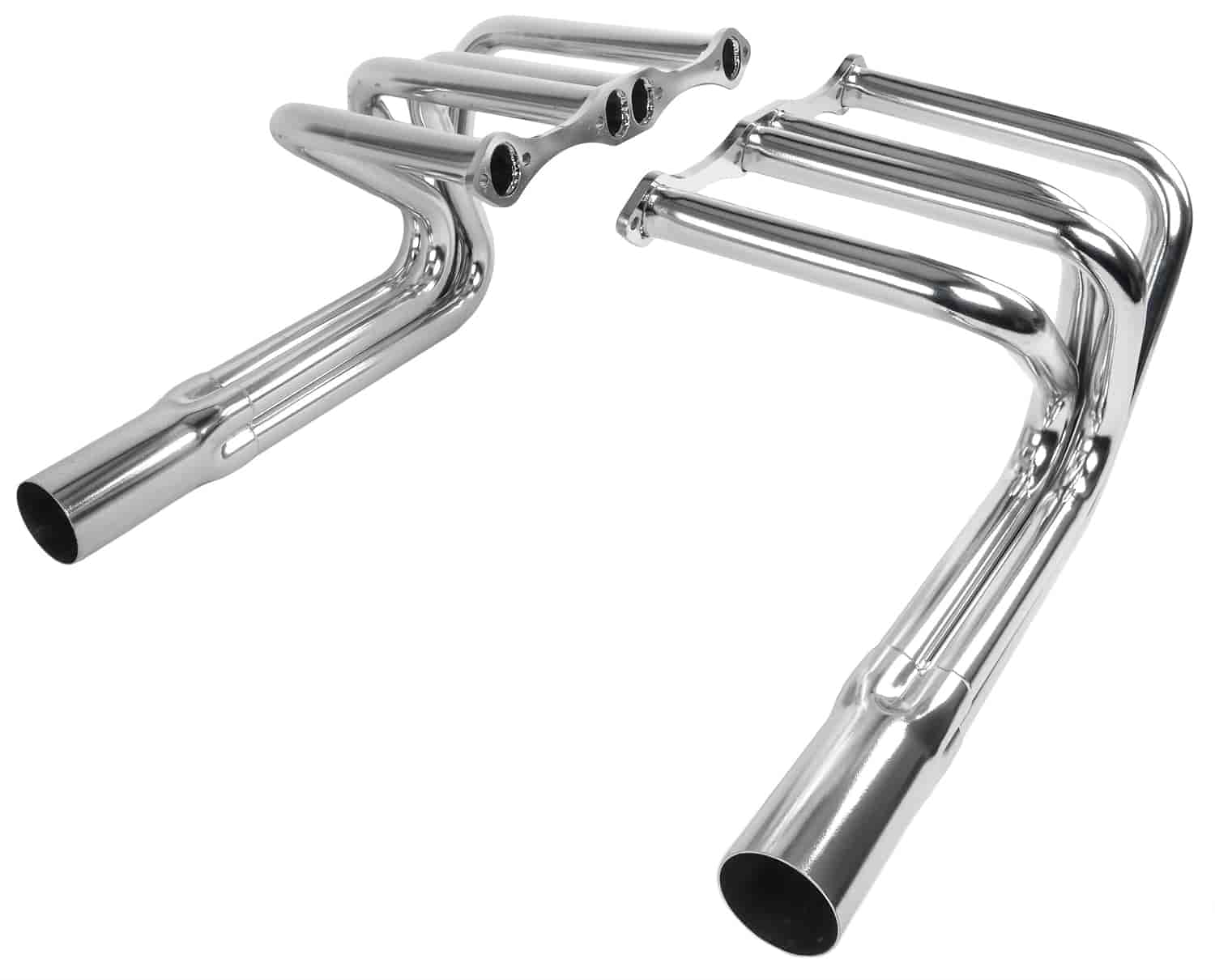 JEGS Roadster Headers Small Block Chevy Ceramic Coated