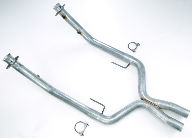 JEGS Off-Road X-Pipe for 2005-2010 Mustang GT