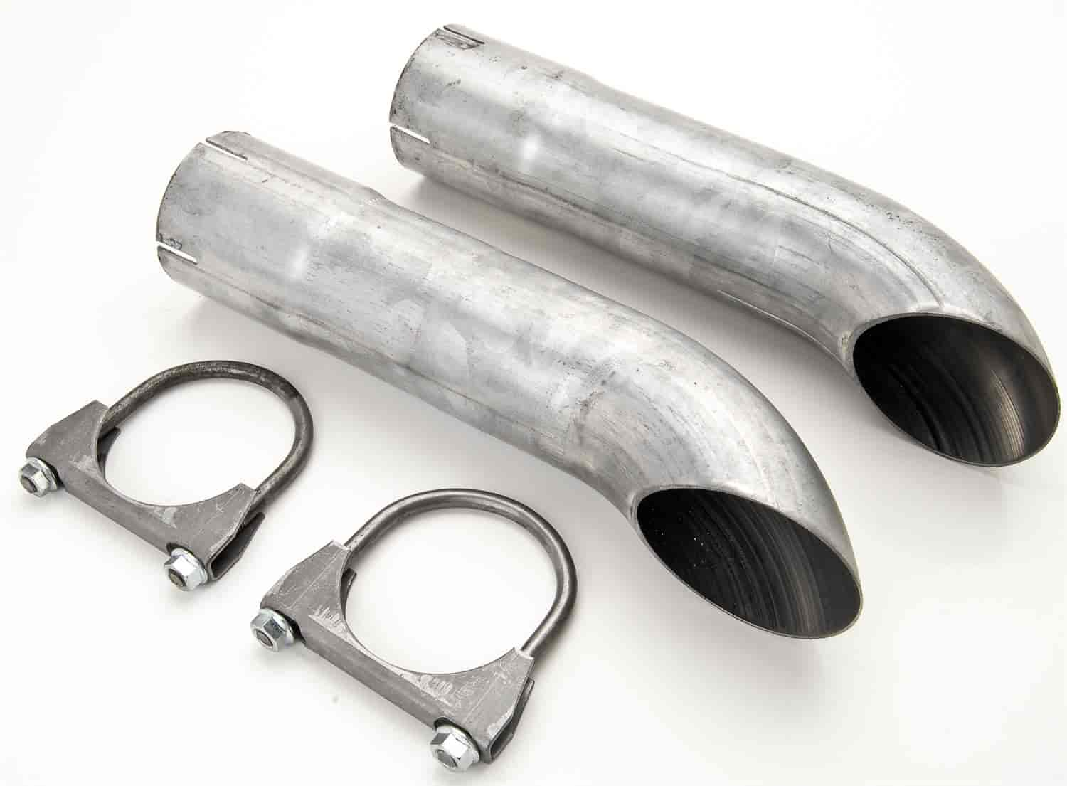 JEGS Performance Products 30643 - JEGS Exhaust Turndowns