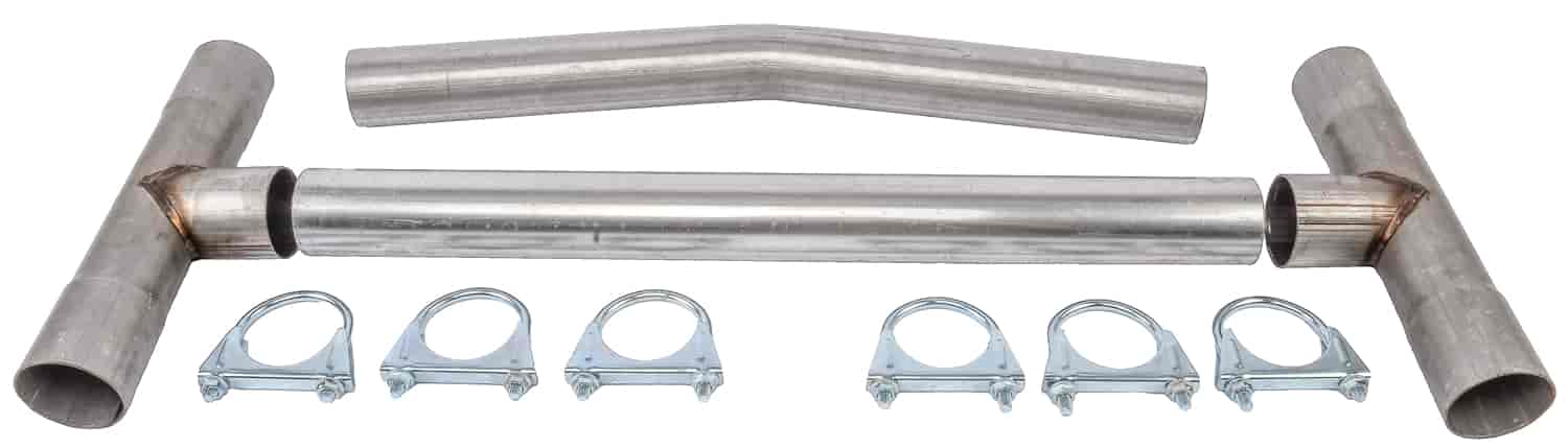 JEGS Performance Products 30652 - JEGS Universal H-Pipe Kits