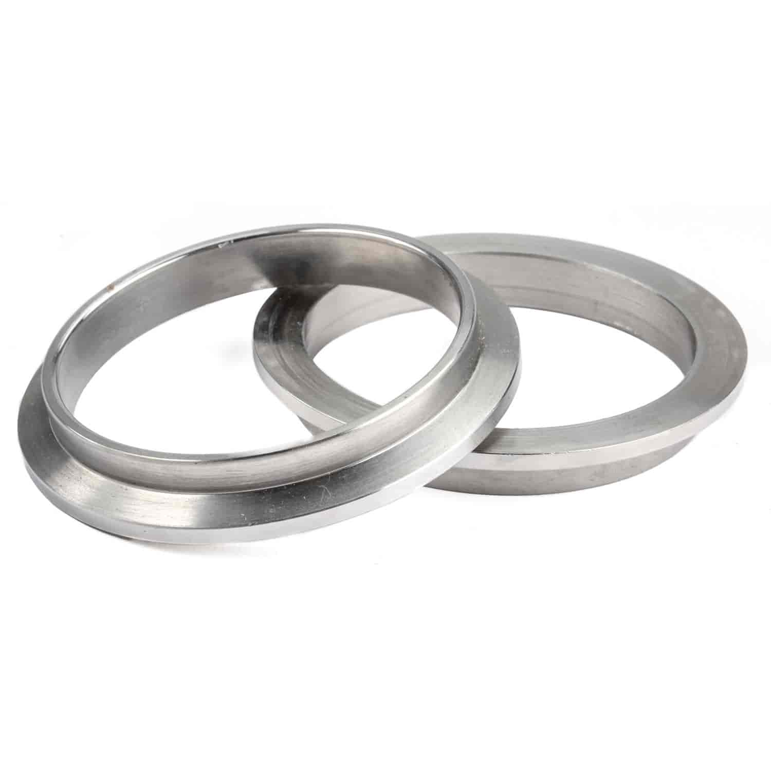 JEGS Performance Products 30873 - JEGS Stainless Steel V-Band Clamps with Steel Flanges