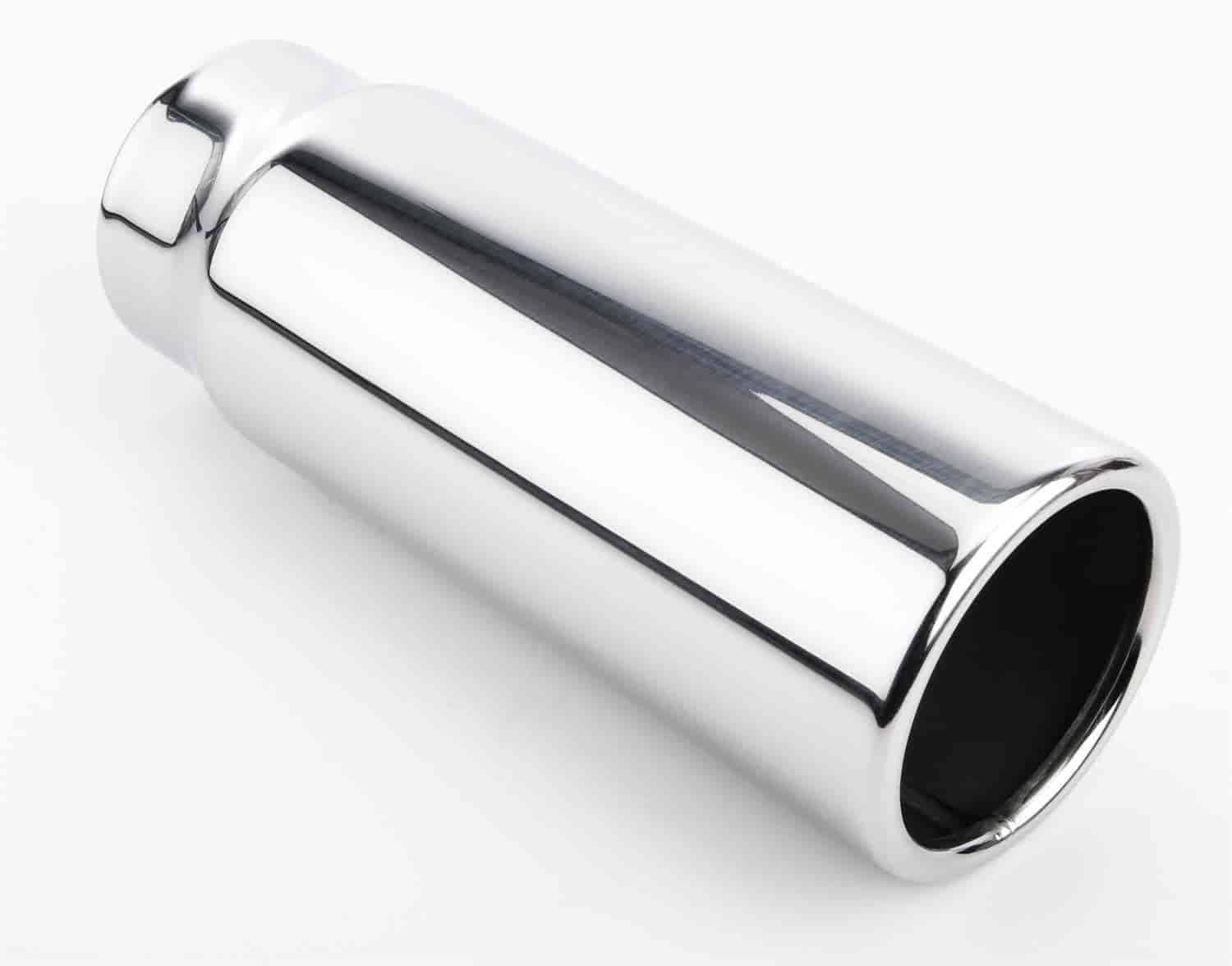 JEGS Performance Products 30921 - JEGS Polished Stainless Exhaust Tips