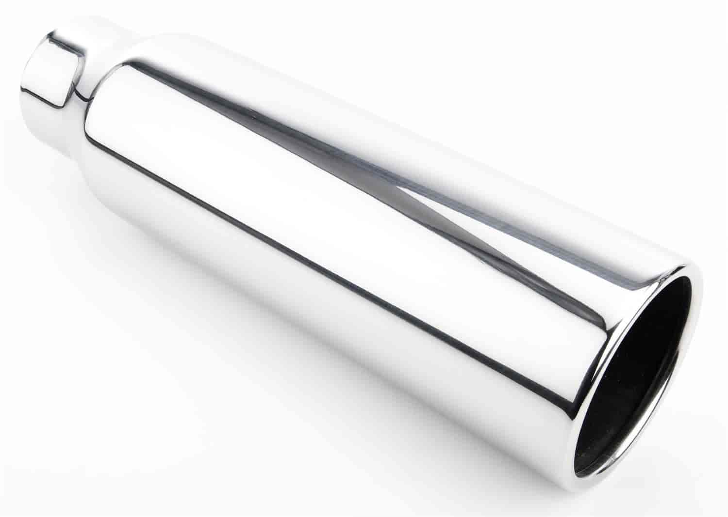 JEGS Performance Products 30931 - JEGS Polished Stainless Exhaust Tips
