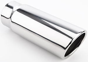 JEGS Performance Products 30941 - JEGS Polished Stainless Exhaust Tips