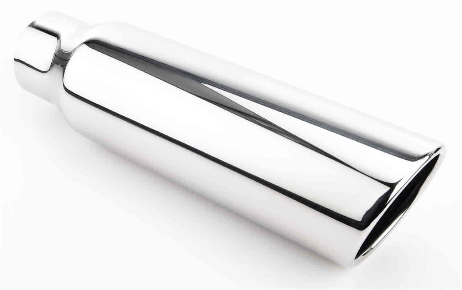 JEGS Performance Products 30942 - JEGS Polished Stainless Exhaust Tips