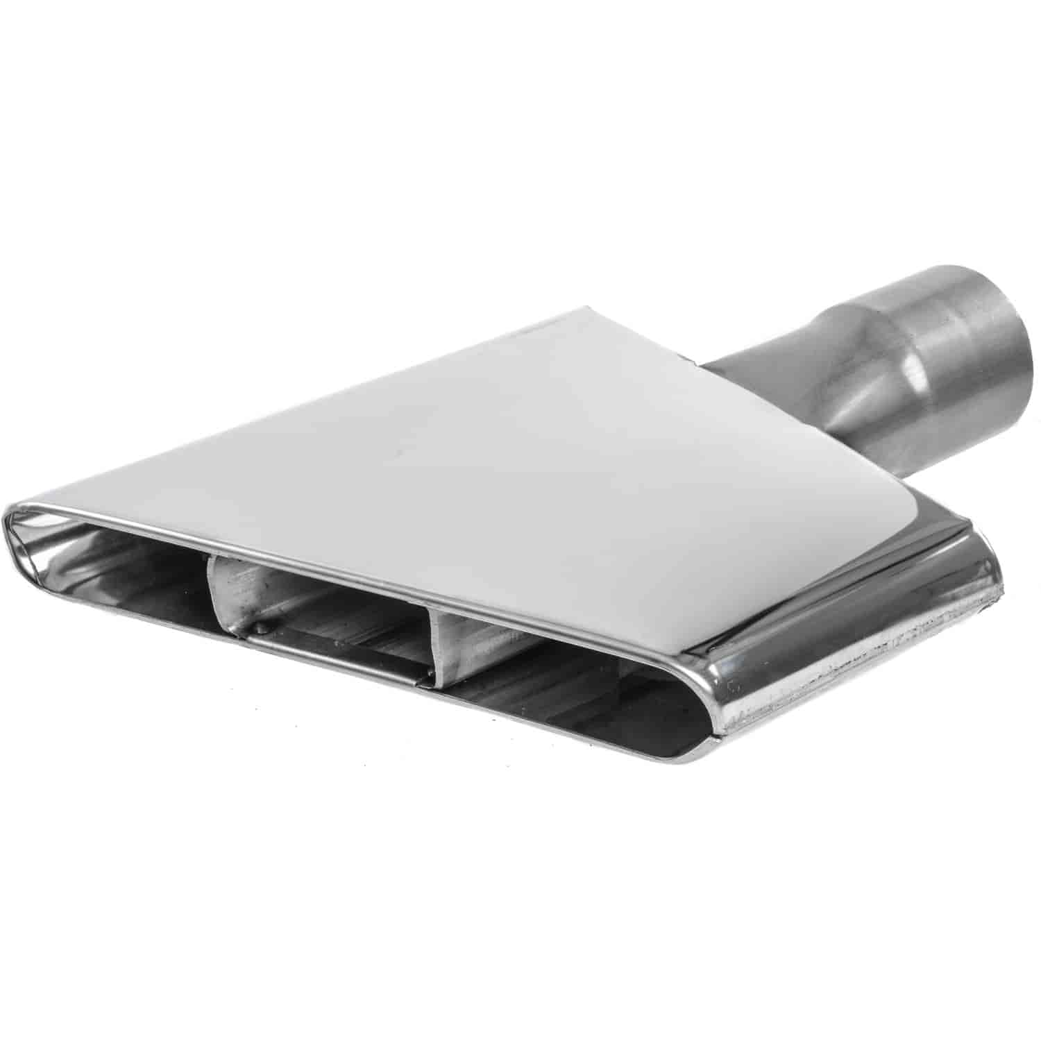 JEGS Performance Products 30972 - JEGS Circle Track Style Stainless Steel Exhaust Tips