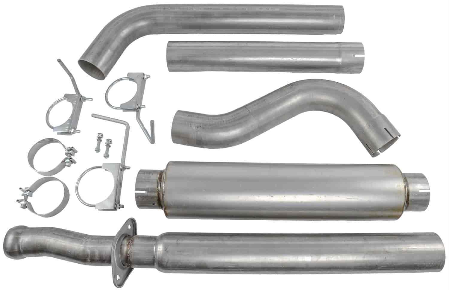 JEGS Performance Products 31115 - JEGS 3.5L V6 Twin Turbo F150 EcoBoost Exhaust System