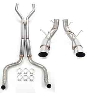 JEGS Performance Products 31161K - JEGS 2011-14 Mustang GT Exhaust
