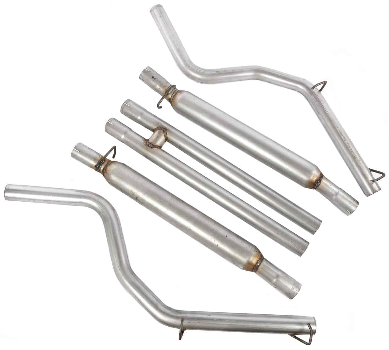 JEGS Performance Products 31221 - JEGS 2005-10 Charger/Magnum/300C Cat-Back Exhaust Kits