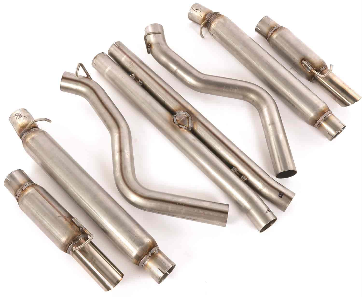 JEGS Performance Products 31224 - JEGS 2005-10 Charger/Magnum/300C Cat-Back Exhaust Kits