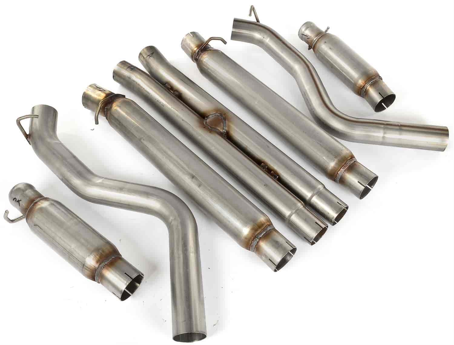 JEGS Performance Products 31225 - JEGS 2008-13 Challenger Cat-Back Exhaust Kits