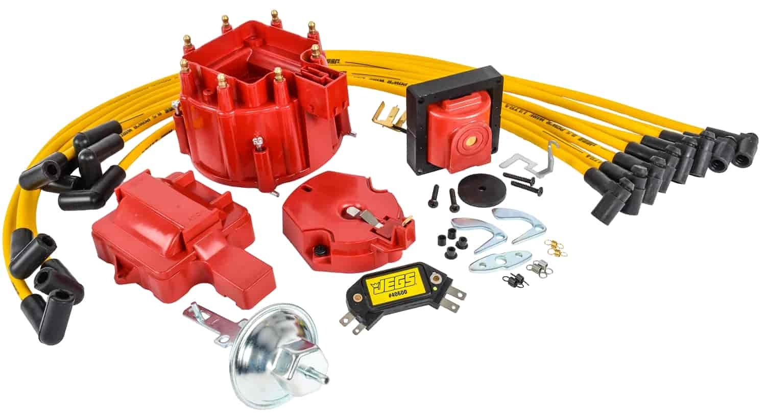 Jegs Performance Products 40009k1 High Hei Ignition Wiring Diagram 86 Chevy 305 Tune Up Kit Fits Small Block