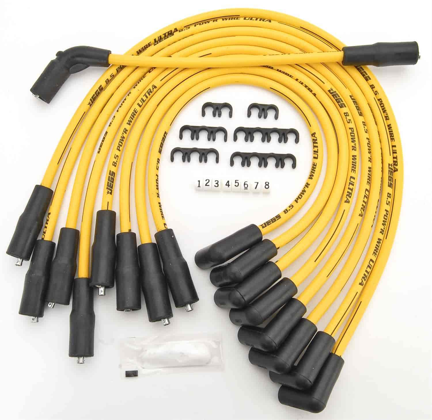 555 40224 jegs performance products 40224 8 5mm yellow ultra pow\