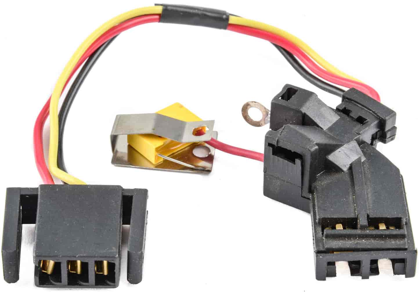 jegs hei wiring harness replaces harness that fits between cap \u0026 oe style 4 pin hei module Distributor Wiring Harness