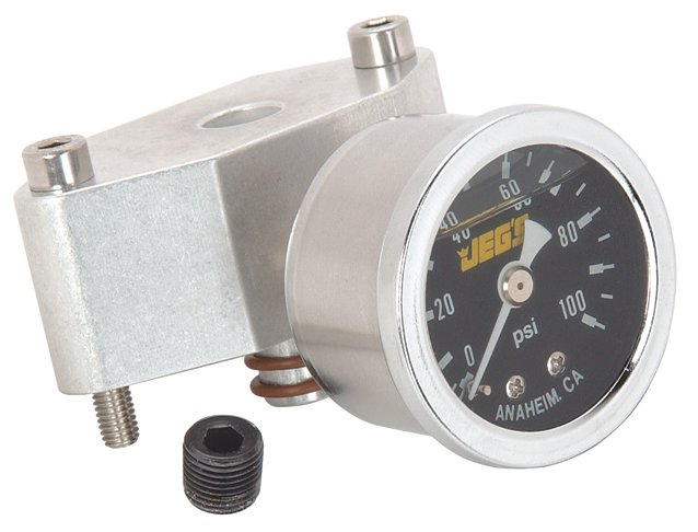 JEGS Performance Products 41017 - JEGS 1999-2004 Mustang 4.6L Fuel Pressure Gauge Kits
