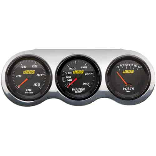 JEGS Performance Products 41092K - JEGS Gauge and Panel Kits