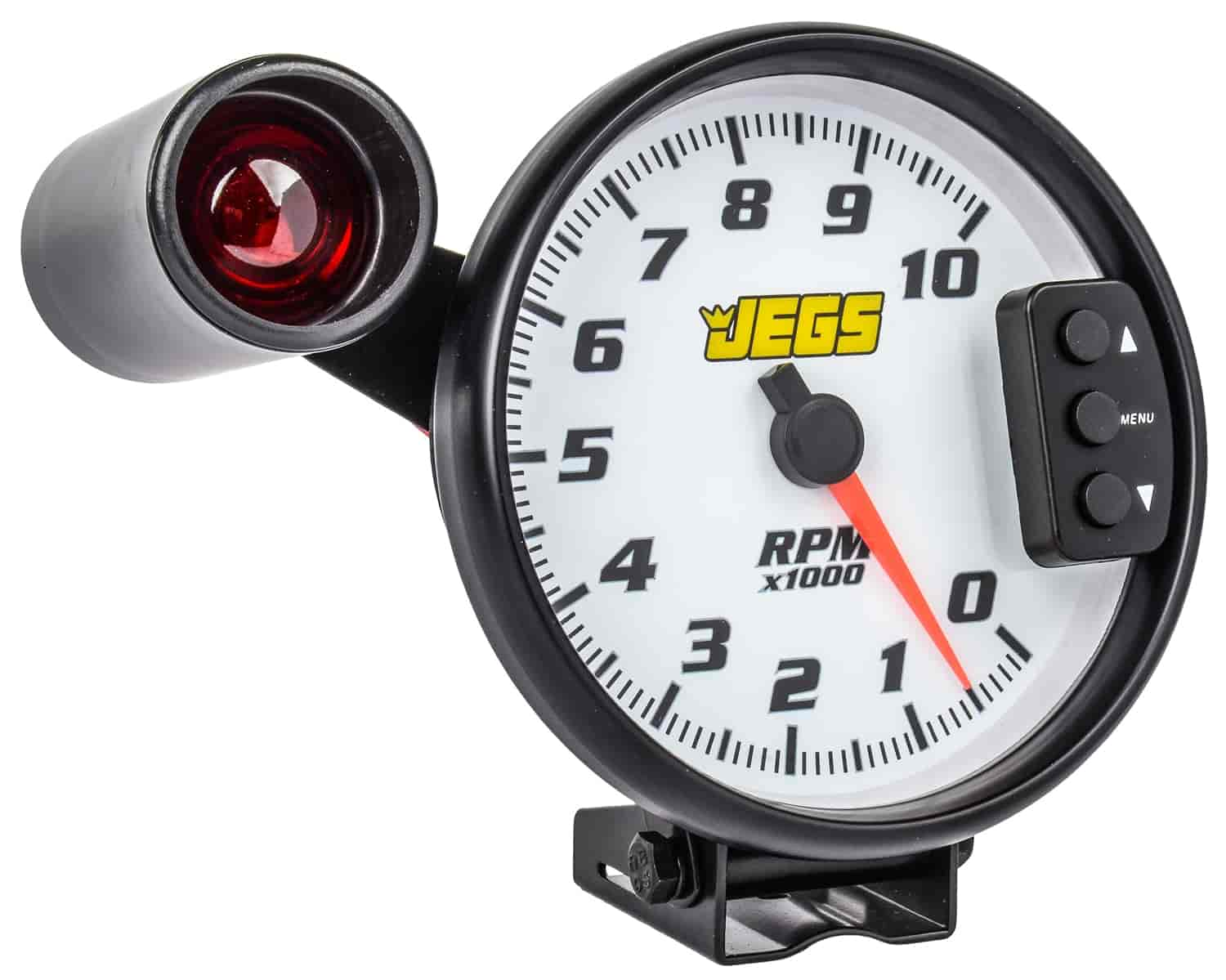 Jegs 41265 5 Tachometer White Face With Black Bezel Vdo Tach Wiring Sheet