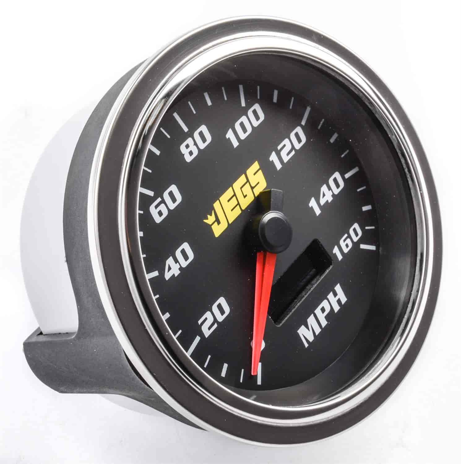 JEGS Performance Products 41280 - JEGS 3-3/8'' Tachometer & Speedometer