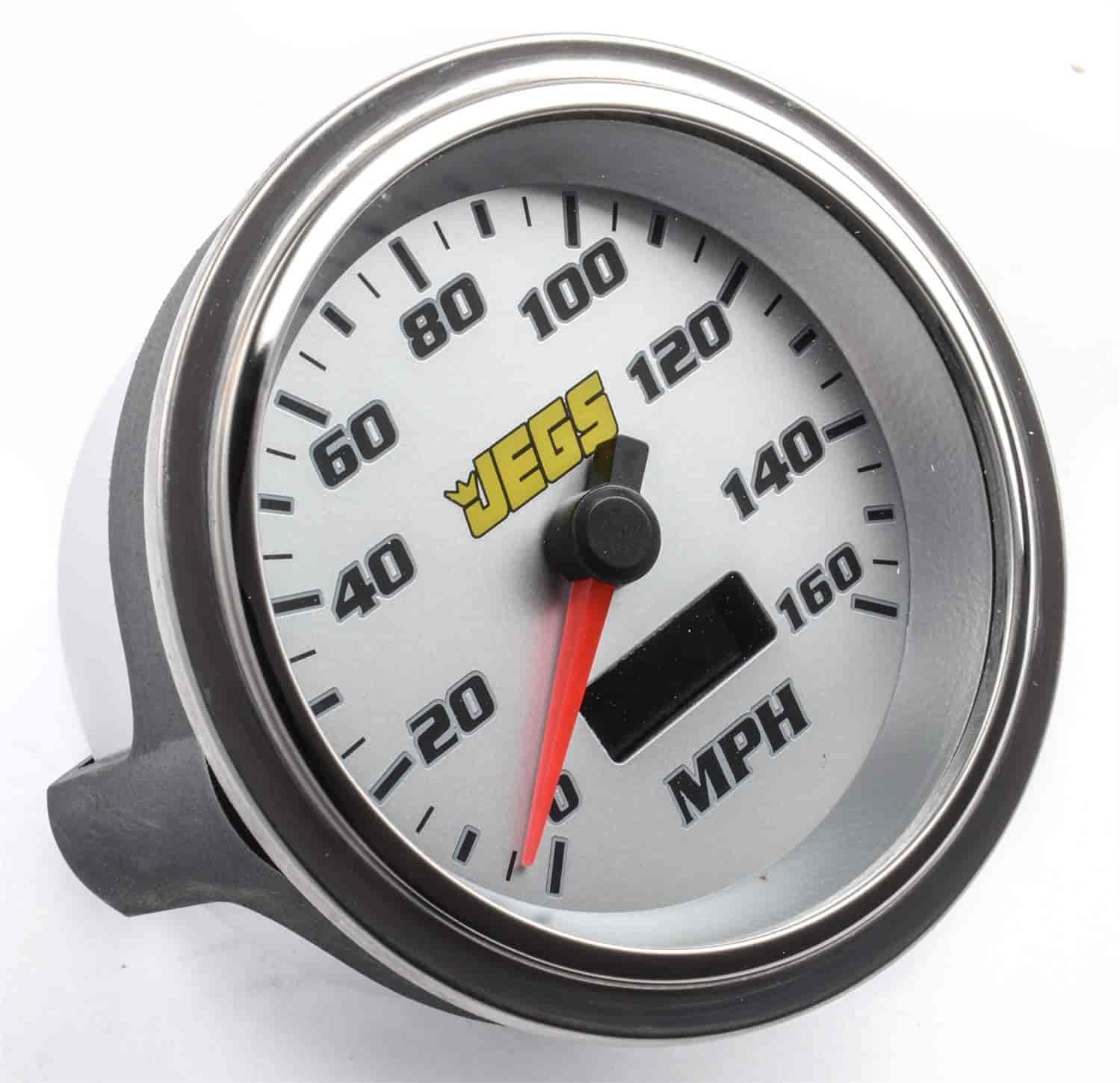 JEGS Performance Products 41281 - JEGS 3-3/8'' Tachometer & Speedometer
