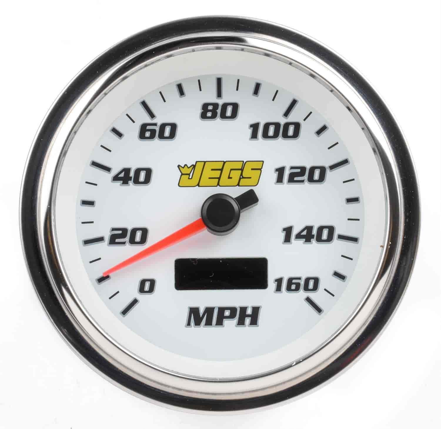 JEGS Performance Products 41282 - JEGS 3-3/8'' Tachometer & Speedometer