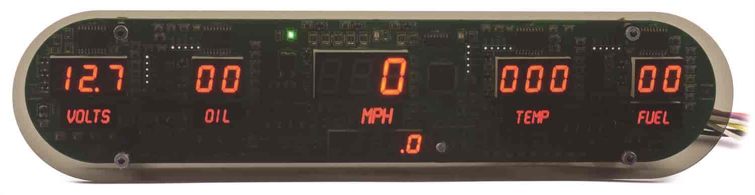 JEGS Performance Products 41620 - JEGS New Digital Gauge Panels