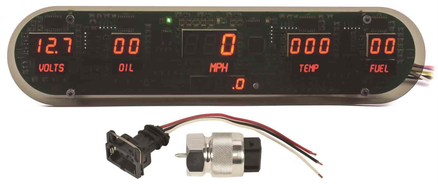 JEGS Performance Products 41621 - JEGS New Digital Gauge Panels