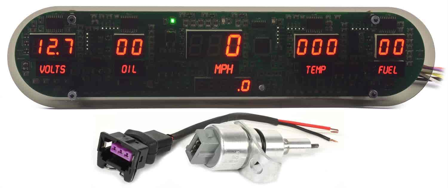 JEGS Performance Products 41622 - JEGS New Style Digital Gauge Panels