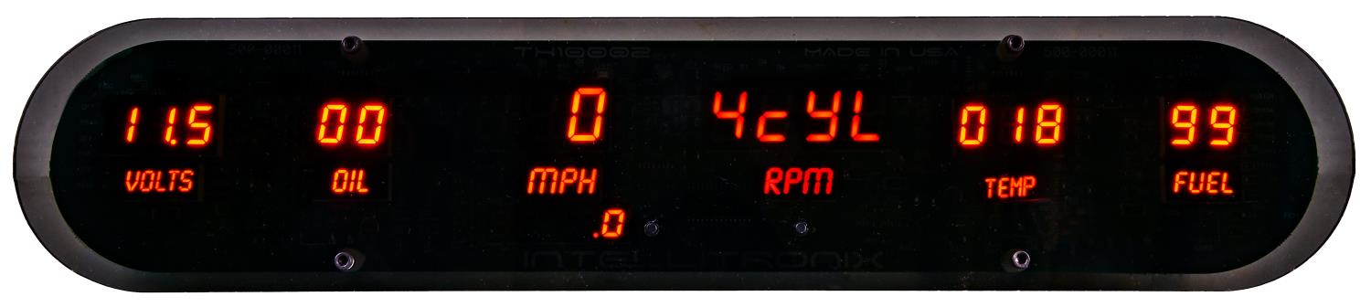 JEGS Performance Products 41625 - JEGS New Digital Gauge Panels